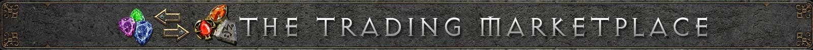 Diablo 2 Resurrected Trading Marketplace