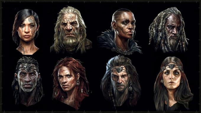 Diablo 4 character variations - Diablo IV Classes