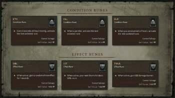 Diablo 4 Runes