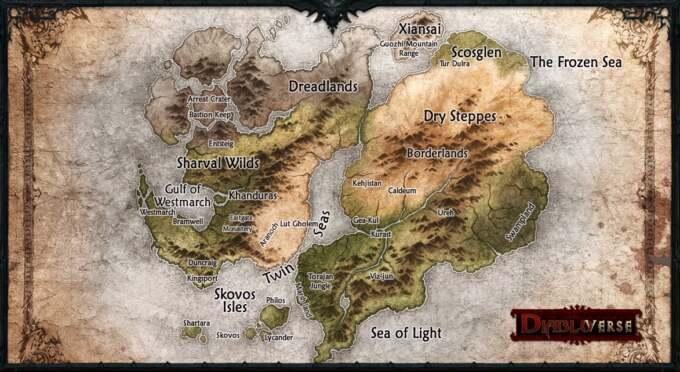 Sanctuary Map Diablo IV