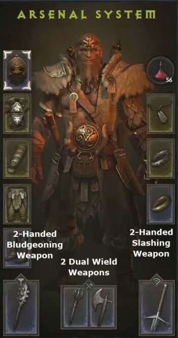 diablo 4 barbarian arsenal