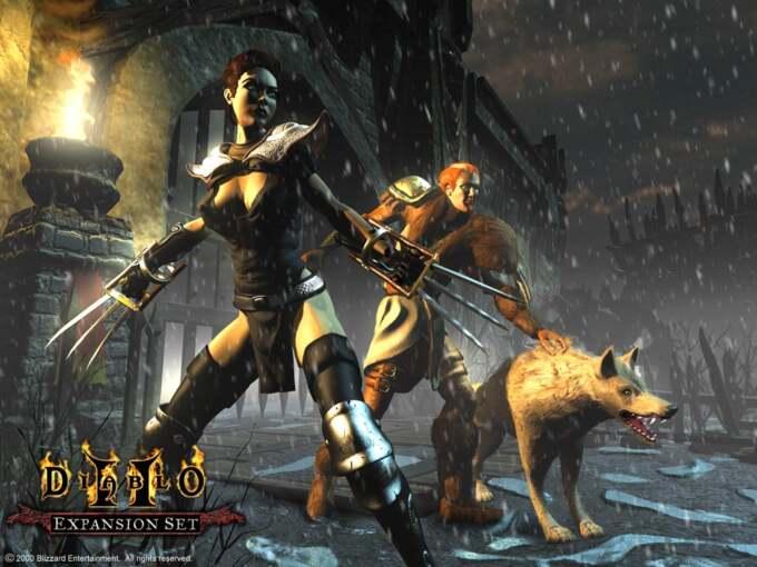 Diablo 2 Assasssin Druid Art