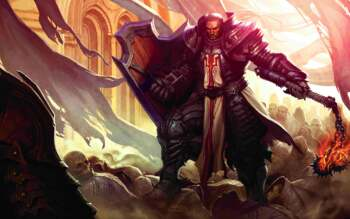 Diablo 3 Crusader Art