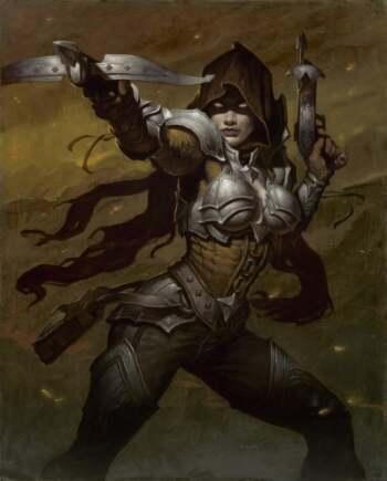 Diablo 3 Demon Hunter Art