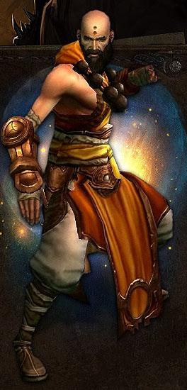 Diablo 3 Monk Art
