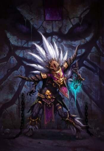 Diablo 3 Witch Doctor Art