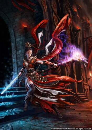 Diablo 3 Wizard Art