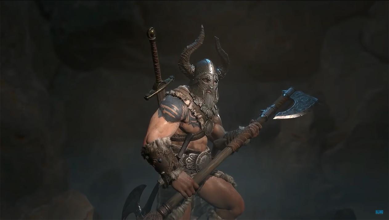 Barbarian Diablo 4
