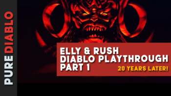 Watch Elly and Rush revisit Diablo 1 Twenty Years On - Part 1