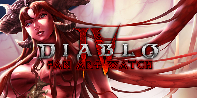 A Diablo Fan Art Watch