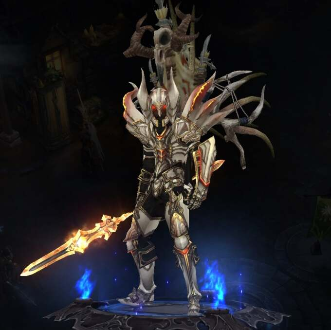 Diablo 2 20th Prime Evil Wings