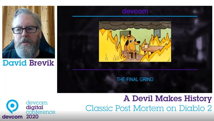 David BrevikDavid Brevik Recalls Diablo 2 Crunch