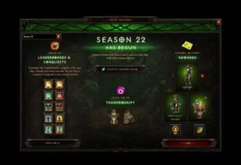 Season 22 Diablo 3