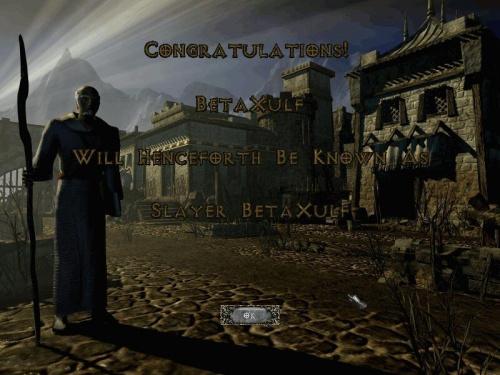 congrats - Eye of Destruction - Act 5