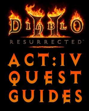 Diablo 2 Resurrected Quest Guides - The Fallen Angel - Act 4