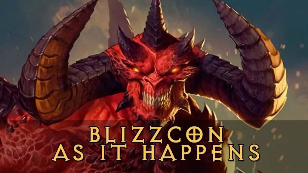 BlizzCon as it happens