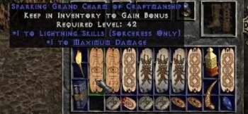 Charms Diablo 2 Resurrected