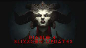 Diablo 4 Blizzcon Updates
