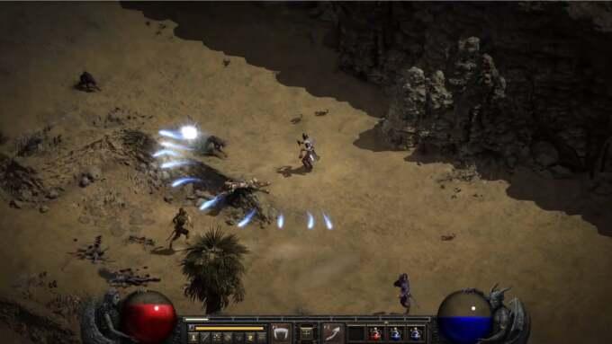 Diablo 2 Resurrected UI