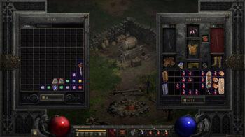 Diablo 2 Resurrected Inventory Stash