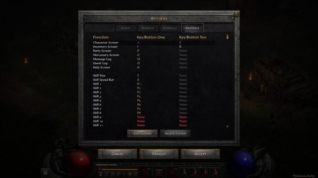 Diablo 2 Resurrected Options