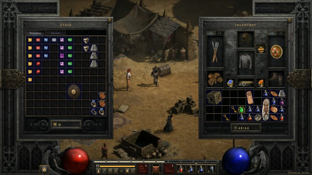 Diablo 2 Resurrected Stash