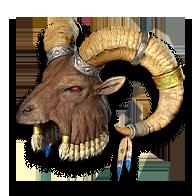 Diablo 2 Antlers - Spirit keeper
