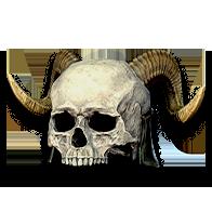 Diablo 2 Bone Helm