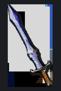 Diablo 2 Crystal Sword