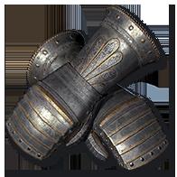 Diablo 2 Heavy Gauntlets Gloves
