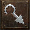 guided arrow