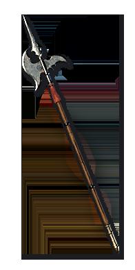 Diablo 2 Halberd