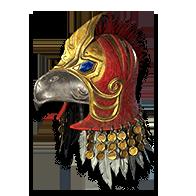 Diablo 2 Hawk Helm