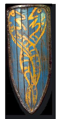 Diablo 2 Heraldic Shield