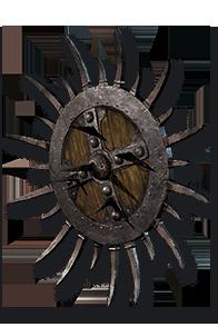 Diablo 2 Spiked Shield