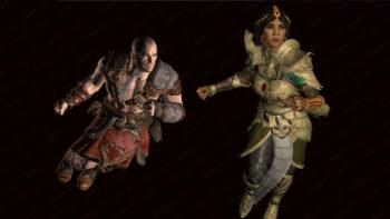 A Closer Look at the Diablo 2 Resurrected Characters