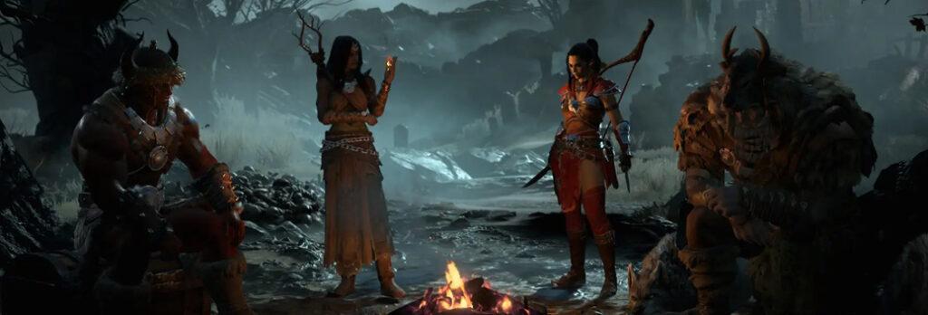 Diablo 4 - Diablo IV Hub Header