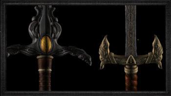 Diablo 2 Resurrected Unique Swords