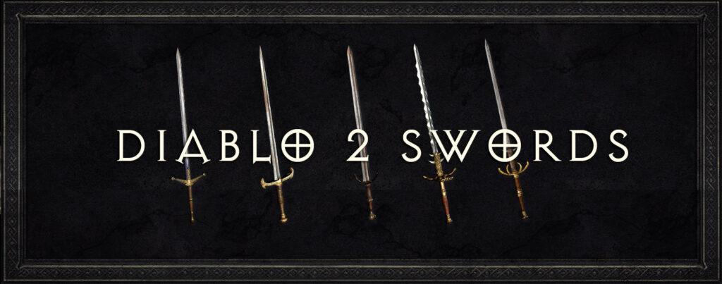 Diablo 2 swords