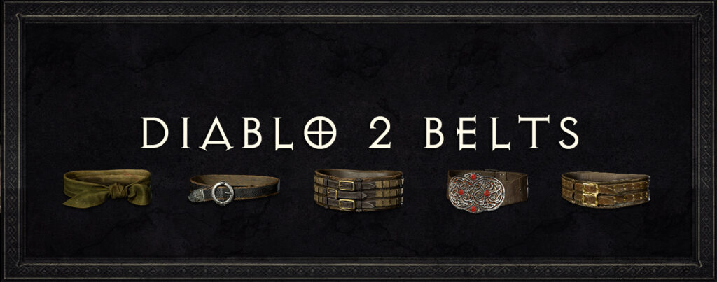 Diablo 2 Belts