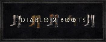 Diablo 2 Boots