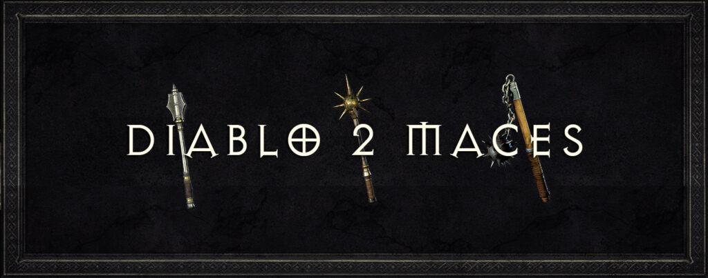 Diablo 2 Maces