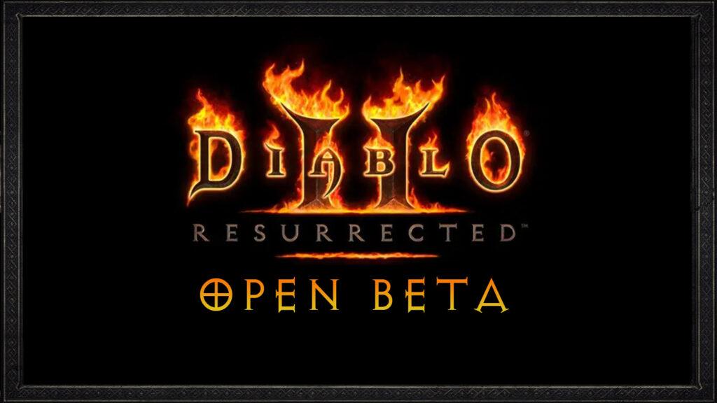Diablo 2 Resurrected Open beta