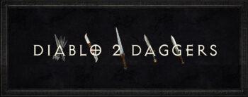 Diablo 2 daggers