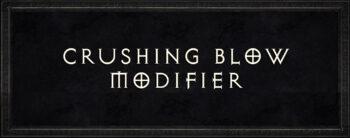 Diablo 2 Crushing Blow Modifier
