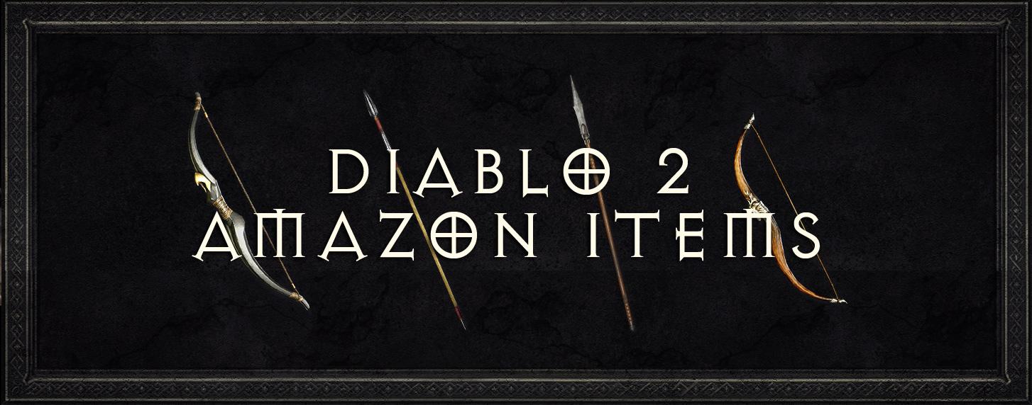 diablo 2 amazon items