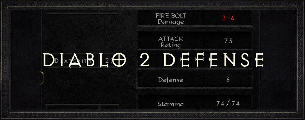 diablo 2 defense