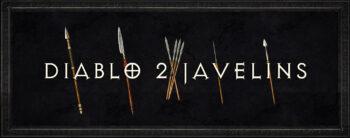 Diablo 2 Javelins