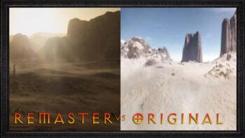 Watch the Diablo 2 Resurrected Cinematic comparison videos