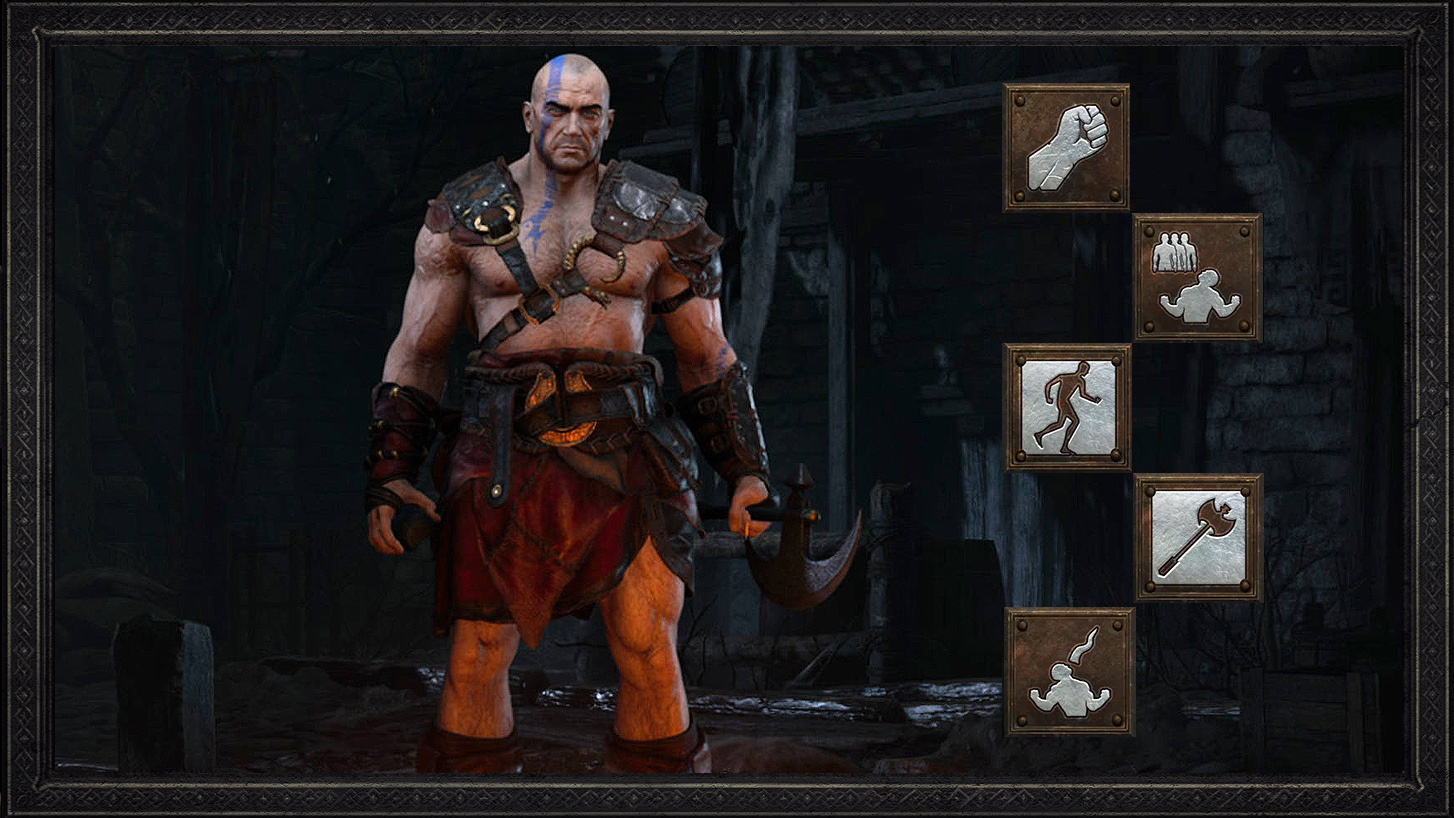 Diablo 2 Barbarian Throw Barb Guide